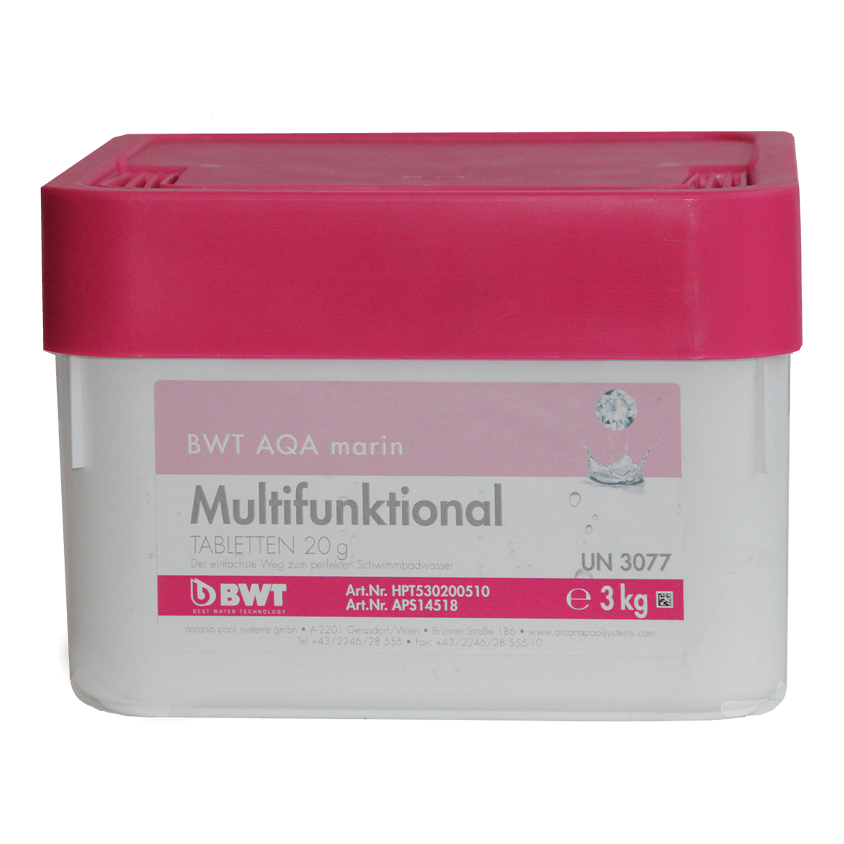 BWT AQA marin Multifunktional Tabletten 20 гр, 3 кг