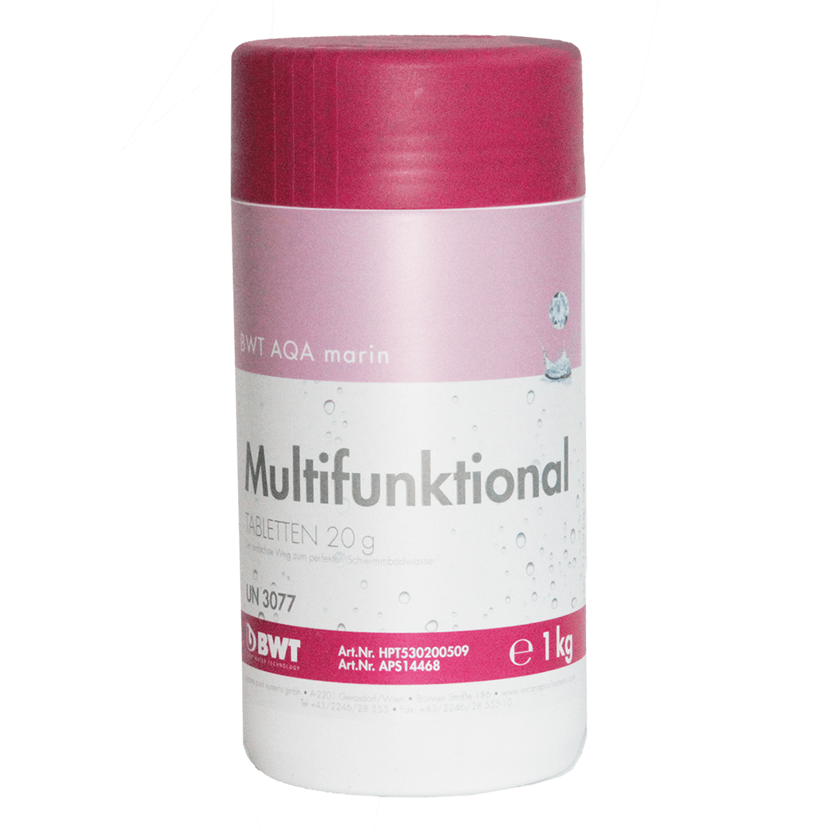 BWT AQA marin Multifunktional Tabletten 20 гр, 1 кг